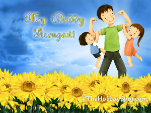 2012 Happy Father's Day Free Wallpapers and Cards