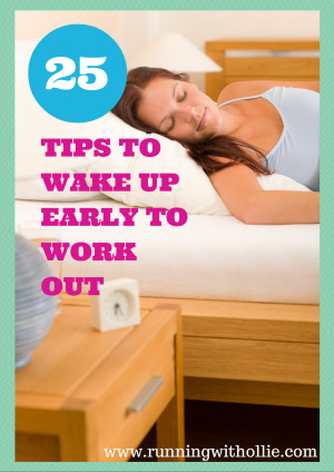 25 Tips to Wake Up Early to Workout