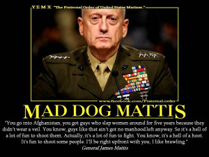 WASHINGTON (CNN) -- A three-star Marine general who said it was