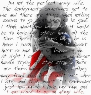 ... friend during deployment if the friend is the spouse of a soldier