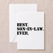 Cool Best son in law Greeting Cards (Pk of 10)