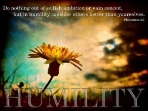 Humility* Bible Verse*