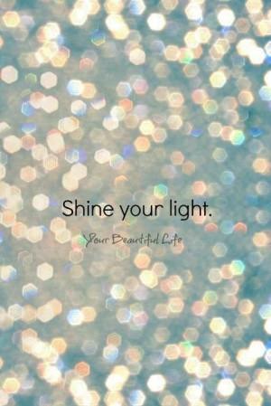 Let it shine! ️