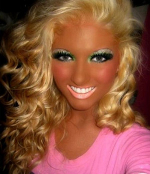 The 20 Worst Makeup Fails Of All Time