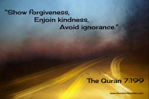 bin uzayr abstract the quran 7 199 surah al a raf