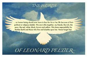Leonard Peltier quote