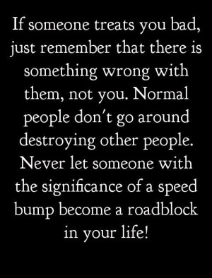 Don't let people bring you down...