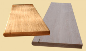 Hand Scraped Full Thickness Treads :: Soft Maple :: Soft Maple Hand ...