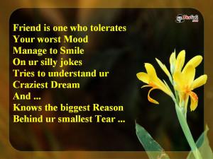 Cute Friendship Quotes HD Wallpaper 4