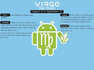 Virgo Android G1 Wallpaper