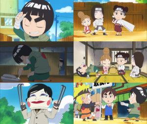 More Hot Pictures from Trailer Naruto Sd Rock Lee No Seishun Full ...