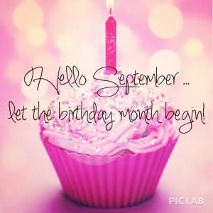 Hello Birthday Month September