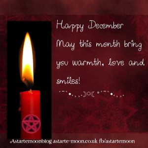 Happy December, warm Yule blessings to you xxx