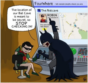 Holy Check Ins, Batman!