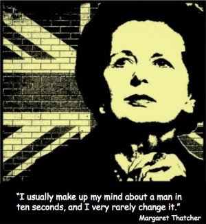 inspiring quote from Margaret Thatcher