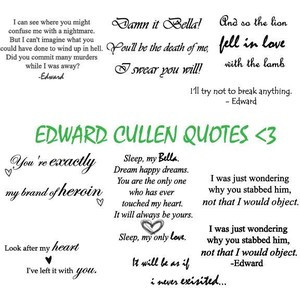 Edward cullen quotes image by bellablack88 on Photobucket