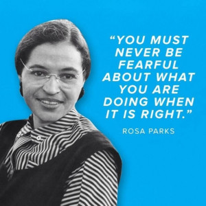 ... quotes Republicans declare racism is over in Rosa Parks tweet then