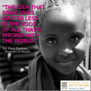 Thursday Quotes Of The Day International day of the girl,