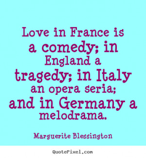 quote about love by marguerite blessington make your own quote picture