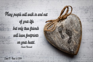 Friendship and its lasting impression on our heart - by Laurel D. Rund ...