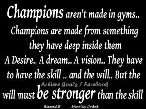 Muhammad Ali Quotes Impossible Muhammad ali