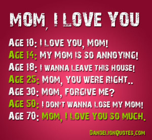 Mother I Love You Quotes (5)