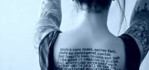 Amazing Tattoo Quotes For Girl