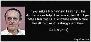 More Dario Argento Quotes
