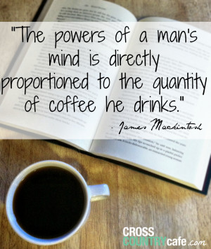 Coffee Quotes For Facebook Famous author coffee quote
