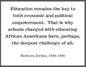 Quotes On Education By African Americans #1