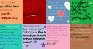TMI quotes~