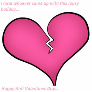 hate valentines day quotes