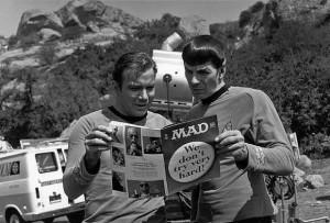 Star Trek Leonard Nimoy & William Shatner