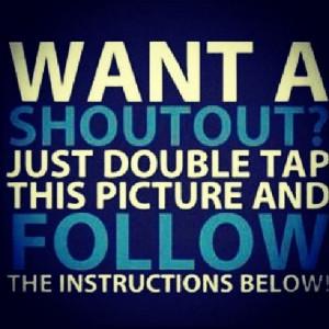 Shout Out Instagram Instagram like