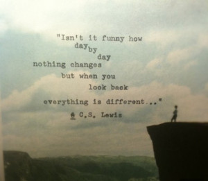everything is different change picture quote