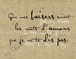 French Sayings About Love Let...