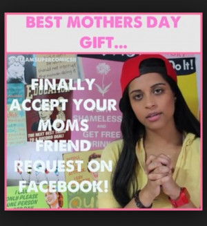 ... this image include: iisuperwomanii, facebook, funny, gift and lilly