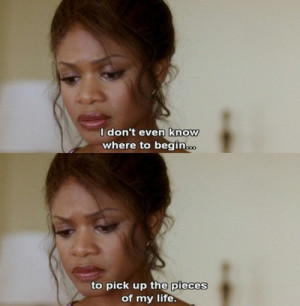 Diary of a Mad Black Woman #Kimberly Elise #Quote #Life #Tyler Perry