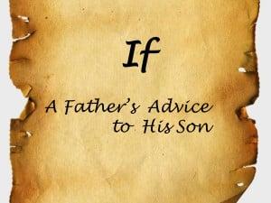 his son presentation transcript if a father s advice to his son ...