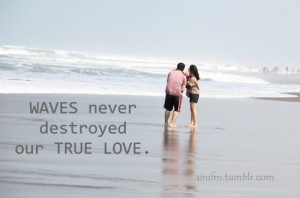 beach, boy, couple, girl, indonesia, love, quote, quotes, waves