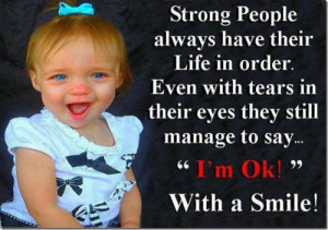strong people Quotes About Her Beautiful Smile