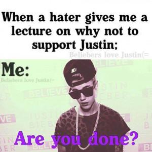 Justin Bieber Haters Hockeyfan