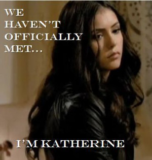 The Vampire Diaries Katherine Pierce