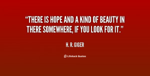 There Is Hope Quotes