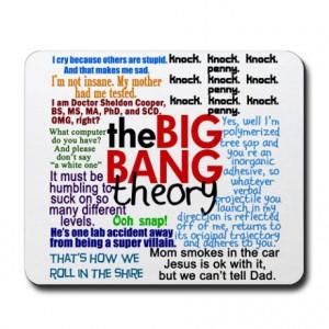 Big Bang Gifts > Big Bang Office > Big Bang Quotes Mousepad