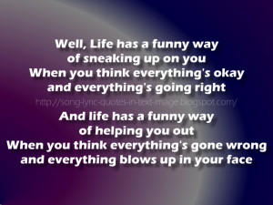 Ironic - Alanis Morissette Song Lyric Quote in Text Image