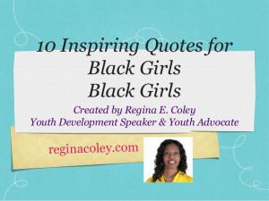 10 Inspiring Quotes for Black Girls