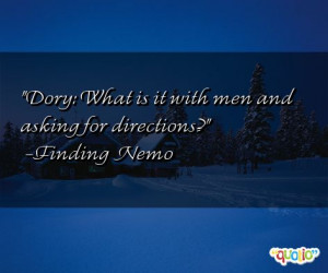 Finding Nemo Quotes Dory Whale