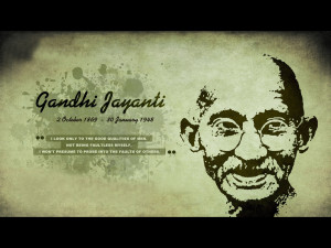 famous gandhi quotes Home Famous Personalities Mahatma Gandhi Picture ...