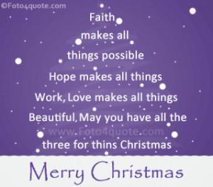 Christmas Card Quotes Sayings...